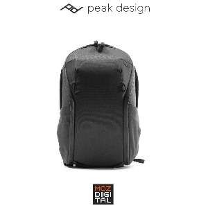 (픽디자인) peakdesign Everyday v2 Backpack Zip 15L Black 에브리데이 v2 백팩 짚 15L 블랙
